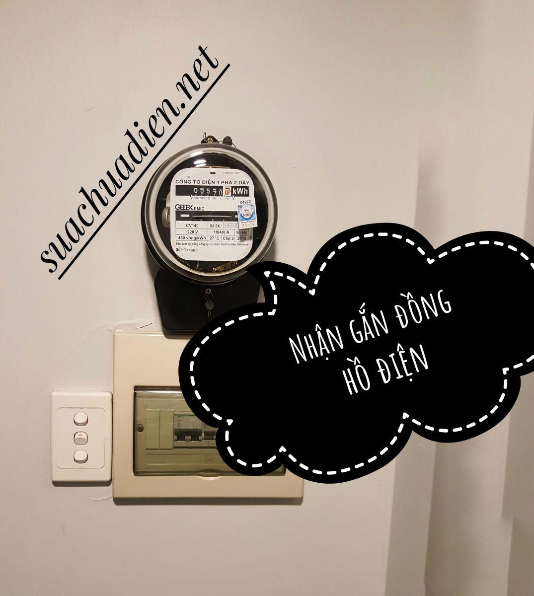 sửa chửa điện tại nhà với chỉ 1 cuộc gọi